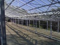 costruzione serra
