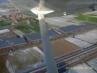 Vista aerea serra Piemonte