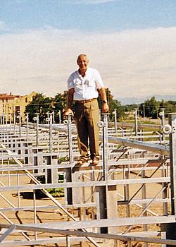 Antonio Perini, fondatore della Metalserra