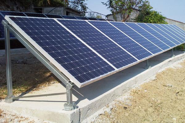 Sostegni pannelli fotovoltaici