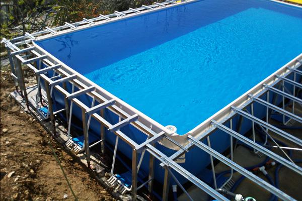 strutture di sostegno pavimentazioni piscine e solarium metalserra dal 1979 costruttori di serre. Black Bedroom Furniture Sets. Home Design Ideas