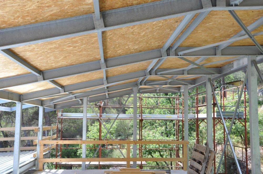 Pannello fenolico per isolamento tetto